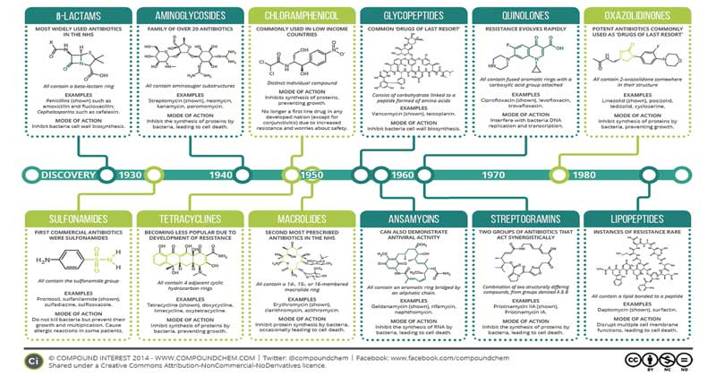 Antimicrobial Drugs and Their Evolution of Resistance