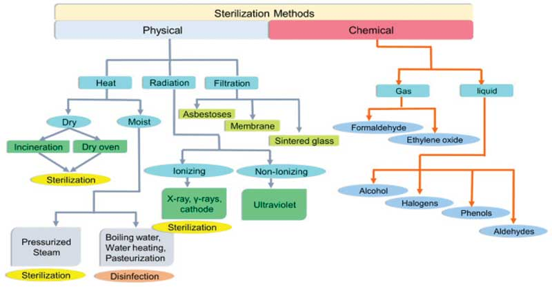Sterilization- physical and chemical methods