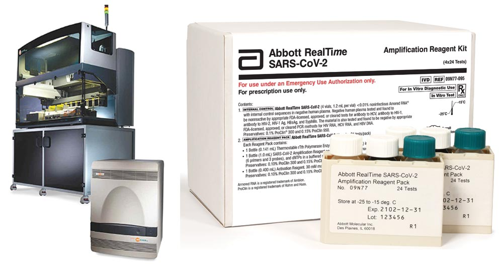 Abbott RealTime SARS-CoV-2 assay