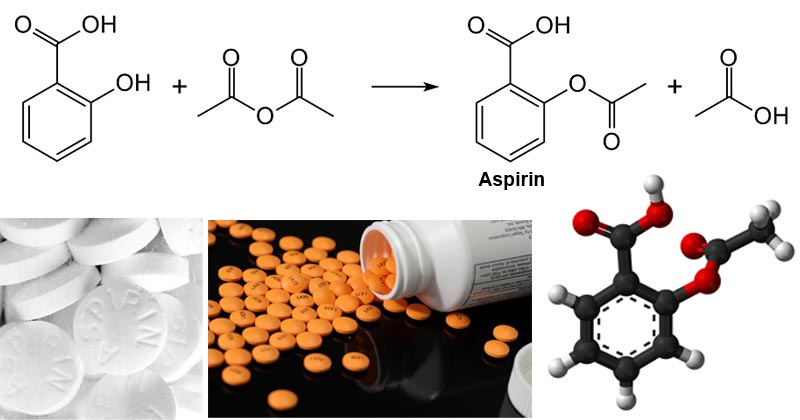 Aspirin and other salicylic acid derivatives