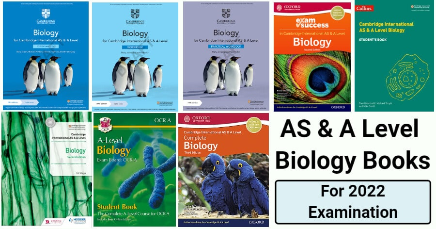 A Level Biology Books for 2022 Exam