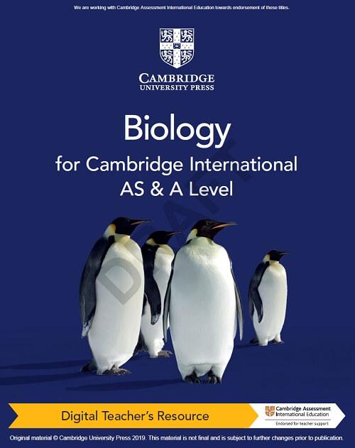 Cambridge International AS & A Level Biology Digital Teacher's Resource