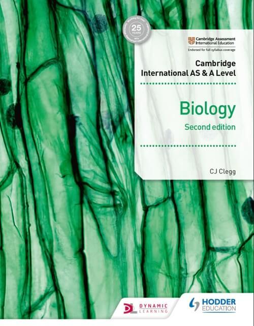 Cambridge International AS & A Level Biology Student's Book- Hodder Education